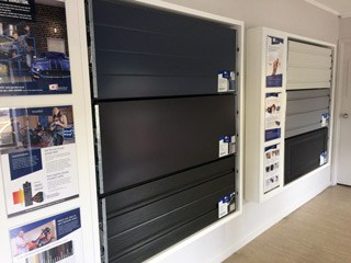 Visit our showroom to see the different styles of garage doors we have on offer